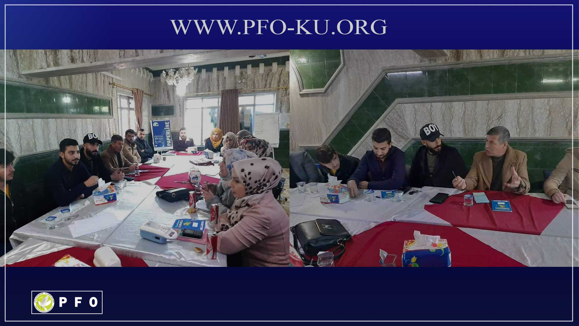 Today, January 25, 2020, the Peace and Freedom Organization, Mosul Center, held a session on social cohesion